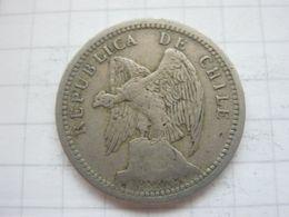 Chile , 20 Centavos 1933 - Chile