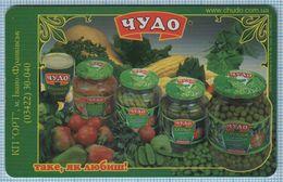 UKRAINE / Ivano-Frankivsk Region / Phonecard Ukrtelecom / Advertising Food. Canned Vegetables Miracle. 05/03 - Oekraïne