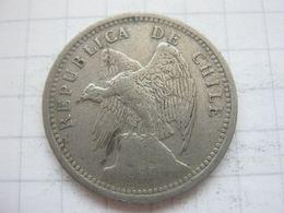 Chile , 20 Centavos 1938 - Chile