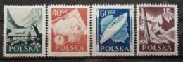 Pologne 1956 / Yvert N°857-860 / ** - 1944-.... Republic