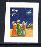 2017 Ireland Christmas Noel Complete Set Of 1 MNH @ BELOW FACE VALUE - 1949-... Republiek Ierland