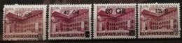 Pologne 1956 / Yvert N°861-864 / ** - 1944-.... Republic
