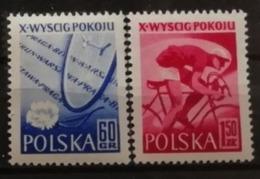 Pologne 1957 / Yvert N°900-901 / ** - 1944-.... Republic