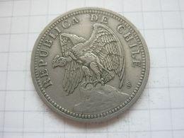 Chile , 1 Peso 1933 - Chile