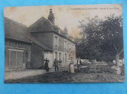 14 : BONNEVILLE-sur-TOUQUES : LA FERME Du LIEU-DUVAL , Animée  C.P..A ,en Bon état - France