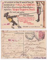 Villa Cabras - Acqua Purgativa Ideale, 1916 - Reclame