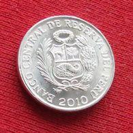 Peru 1 Centimo 2010 KM# 303.4a  Perou - Perú