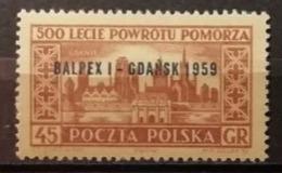 Pologne 1959 / Yvert N°983 / ** - 1944-.... Republic