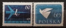 Pologne 1959 / Yvert N°980 + 984 / ** - 1944-.... Republic
