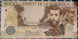 Colombia - 5000 Pesos - 2/8/2014 - UNC - Kolumbien