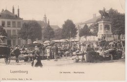 LUXEMBOURG - LE MARCHE - NELS SERIE 1 N° 26 - Luxemburg - Town