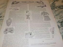 ANCIENNE PUBLICITE PROMENADE D UNE  PARISIENNE - Altri