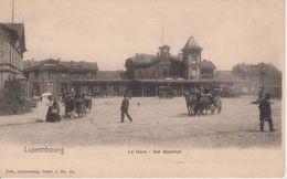 LUXEMBOURG - LA GARE - NELS SERIE 1 N° 20 - Luxemburg - Town