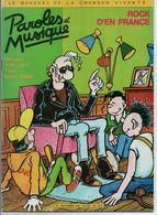 PAROLES ET MUSIQUE N° 42 SEPTEMBRE 1984 FRANCK MARGERIN JOHNNY HALLYDAY - Musique