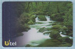 UKRAINE / Phone Card / Phonecard / Utel / Schlumberger Nature. Landscape. Forest River. 1999 - Oekraïne