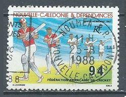 Nouvelle-Calédonie Poste Aérienne YT N°256 Fédération Française De Cricket Oblitéré ° - Luftpost