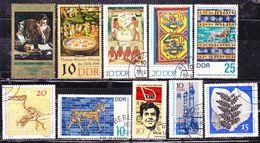 Selezione  Germania DDR-Usati - Lots & Kiloware (mixtures) - Max. 999 Stamps