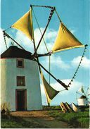 RIO DAS MAÇÃS - SINTRA - MOINHO - WINDMILL MILL MOULIN MOLEN  - Portugal ( 2 Scans ) - Windmills