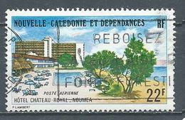 Nouvelle-Calédonie Poste Aérienne YT N°161 Hotel  Château-Royal à Nouméa Oblitéré ° - Gebruikt