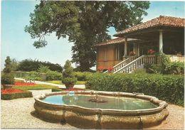 XW 2284 Bisuschio (Varese) - Villa Cicogna - Una Fontana / Non Viaggiata - Other Cities