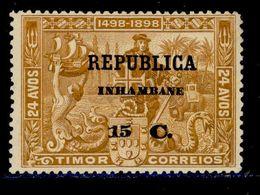 ! ! Inhambane - 1913 Vasco Gama On Timor 15 C - Af. 70 - MH - Inhambane