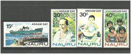 Nauru 1983 Minimum Population Day (Angam Day)  Mi 272-275, MNH(**) - Nauru