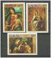 Nauru 1983 Christmas  Mi 276-278, MNH(**) - Nauru