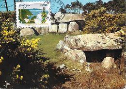 AA 297 LA FLORE DU NORD : L'AJONC Cachet Manuel Au 17-6-2009 - Cartes-Maximum