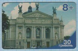 UKRAINE / Phone Card / Scratch  / Utel / 100 Years Of The Lviv Opera. Architecture. Theater. 2000s - Oekraïne