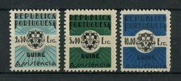 Portuguese Guinea Guine 1967 ASSISTENCIA Complete Set MNH, FVF - Portuguese Guinea