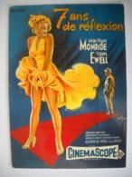 1281 CPM Marilyn MONROE, Tom EWEL,  Billy WILDER  Affiche Du Film 7 Ans De Réflexion Nugeron - Affiches Sur Carte