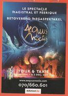 Cartoline - Tematica - Pubblicitari - Aequus Noctis - Le Spectacle Magistral Et Féerique - Tour & Taxis - Not Used - Reclame