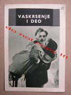 Vaskrsenje I Deo (1960) / Mihail Švejcer: Evgenije Matvejev, Tamara Sjomina - MAKEDONIJA ( Soviet Film ) - Programs