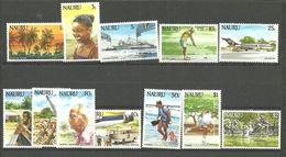 Nauru 1984 Photo From Nauru, Sceneries  Mi 287-298 MNH(**) - Nauru