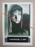 Vaskrsenje II Deo (196?) / Mihail Švejcer: Evgenije Matvejev, Tamara Sjomina - MAKEDONIJA ( Soviet Film ) - Programs