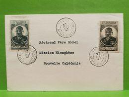 Lettre, Nouvelle Caledonie Oblitéré Touhu 1947 - Nieuw-Caledonië