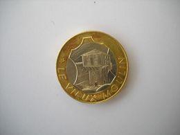 1285 Jeton Monnaie 2 Euros Ville MILLAU 12  Du 25 Juin Au 05 Juillet 1997    Le VIEUX MOULIN  Euro Des Villes - Euros Des Villes