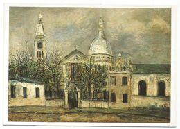 XW 2291 Maurice Utrillo - Eglise Saint Pierre - Musée De L'Orangerie Des Tuileries - Paris - Dipinto Paint Peinture - Pittura & Quadri