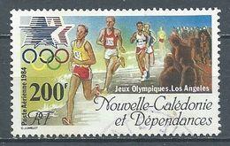 Nouvelle-Calédonie Poste Aérienne YT N°242 Jeux Olympiques De Los Angeles 1984 Course De Fond Oblitéré ° - Gebruikt