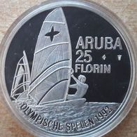 Aruba, 25 Florin 1992 - Silver Proof - [ 4] Colonies