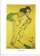 XW 2294 Egon Schiele - Freundschaft - Dipinto Paint Peinture / Non Viaggiata - Pittura & Quadri