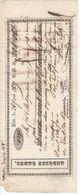 675 Lettre De Change ANDRIEU Cadet Albi 81 Pont De  Camarès Aveyron 12 DAVID CHIFRE   26 Juin 1837 - Wechsel
