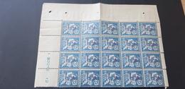 Maroc Yvert 32** Bloc De 20 - Morocco (1891-1956)