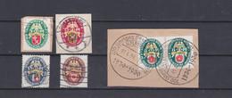 GERMAN REICH 1929 Emergency Help Used B28-B32 (Mi.430-434) - Germany
