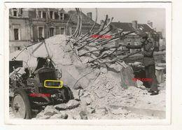 WW2 RARE PHOTO ORIGINALE 1940 Pont Ko à MONTJEAN SUR LOIRE Près Chalonnes Entre Ancenis & Angers MAINE ET LOIRE 49 N°2 - 1939-45
