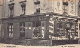 60 - OISE - COMPIEGNE - 11066 - Carte Publicitaire E.COUTURIER - épicerie, Droguerie, Produits Chimiques - Rue Solférino - Compiegne