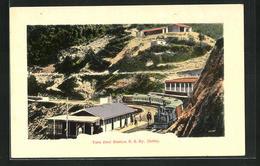 Präge-AK Himachal Pradesh, Tara Devi Station K. S. Ry. - India