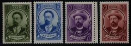 Russia / Sowjetunion 1940 - Mi-Nr. 732-735 ** - MNH - Tschechow / Chekhov (II) - 1923-1991 URSS