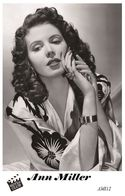 ANN MILLER (PB12) - Film Star Pin Up PHOTO POSTCARD - Pandora Box Edition Year 2007 - Femmes Célèbres