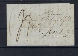 VOORLOPER 1839 VANUIT Wervicq (Belgium) NAAR Mons (Belgium) - 1830-1849 (Belgique Indépendante)
